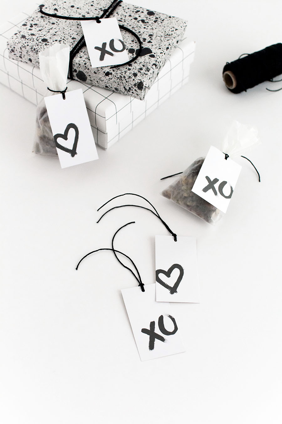 Valentines Day gift tags- free printables