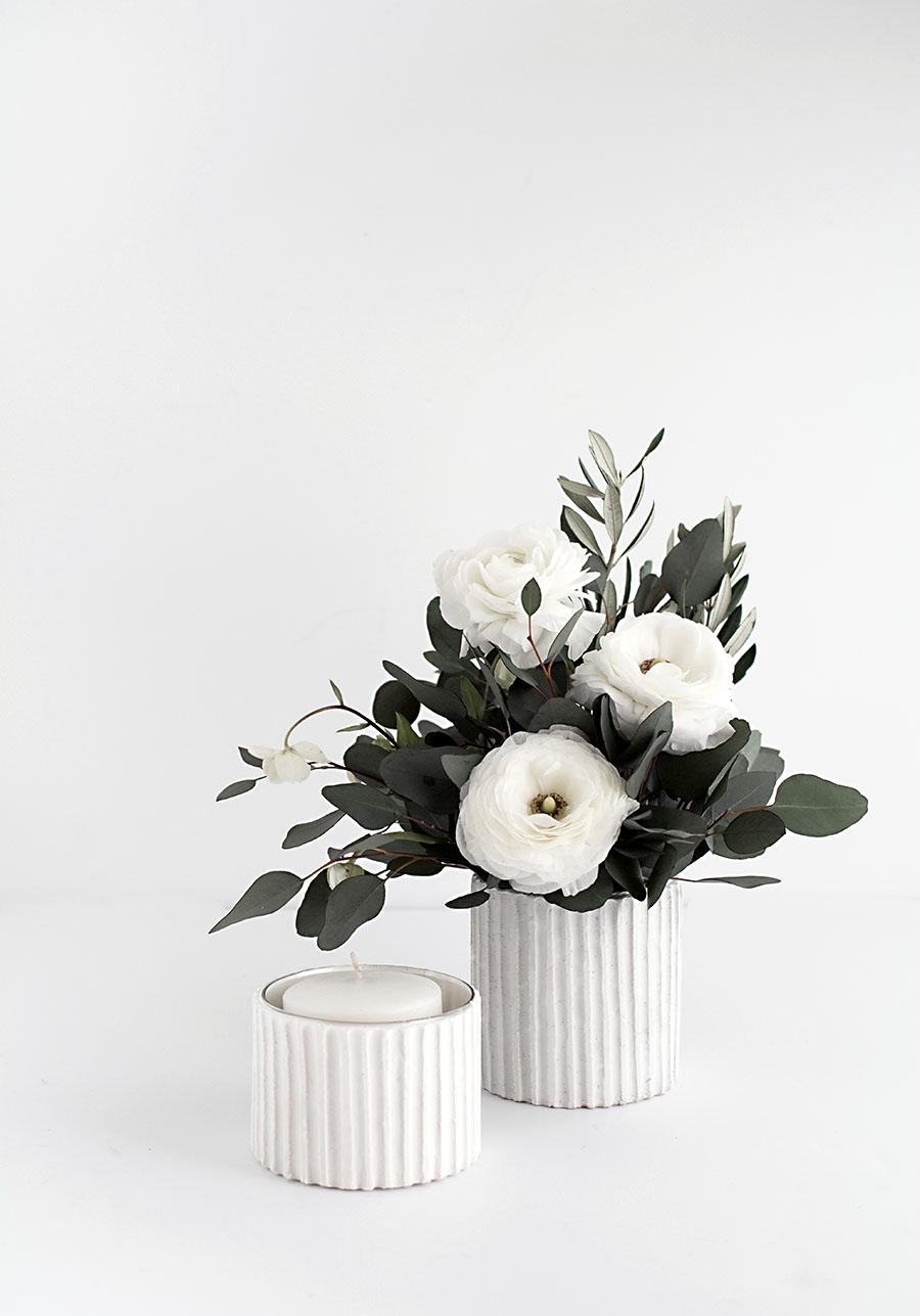 DIY-Textured Vase