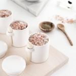 DIY Grapefruit Rosemary Bath Salts