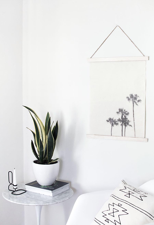 Image transfer wall hanging DIY
