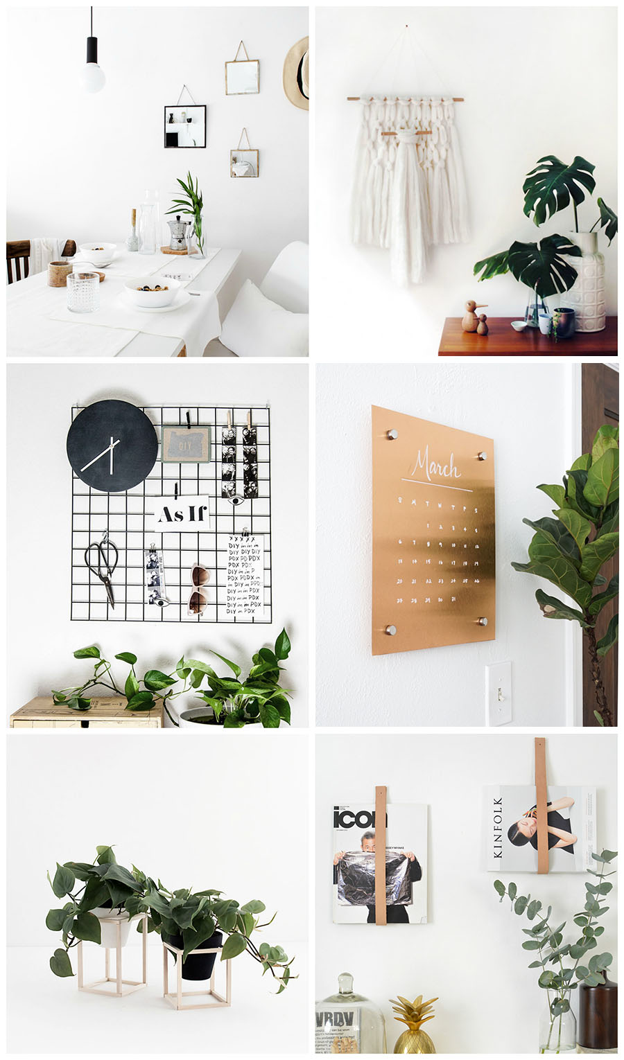 Simple and Modern DIYs for the Home - Homey Oh My