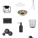 Shop: Black for the Home