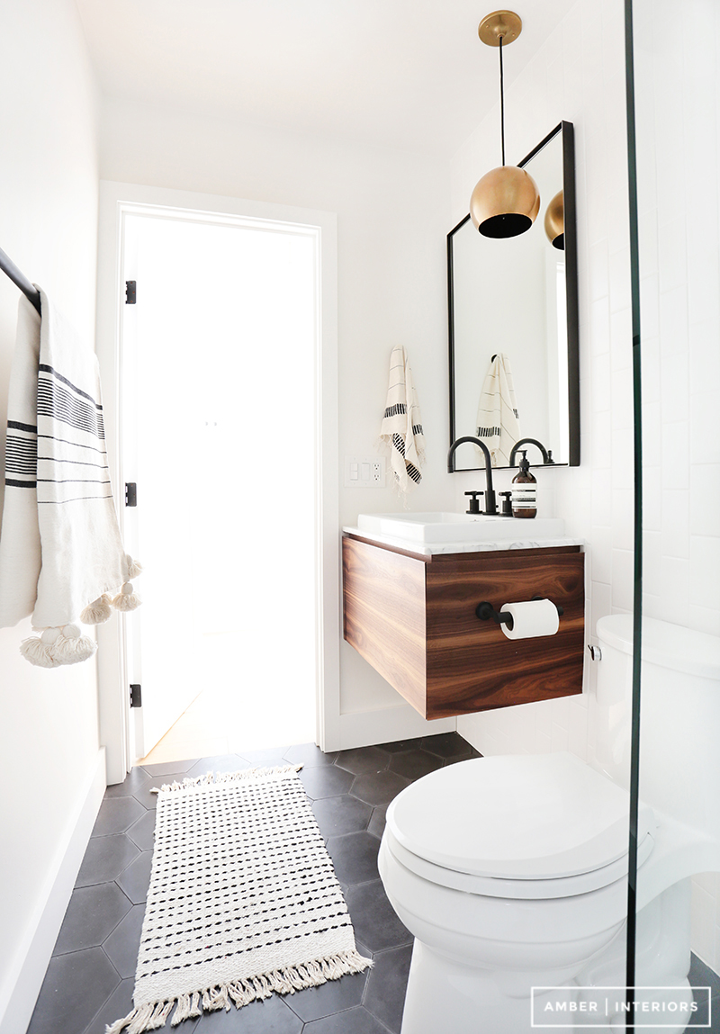 Superior Black Hardware Bathroom