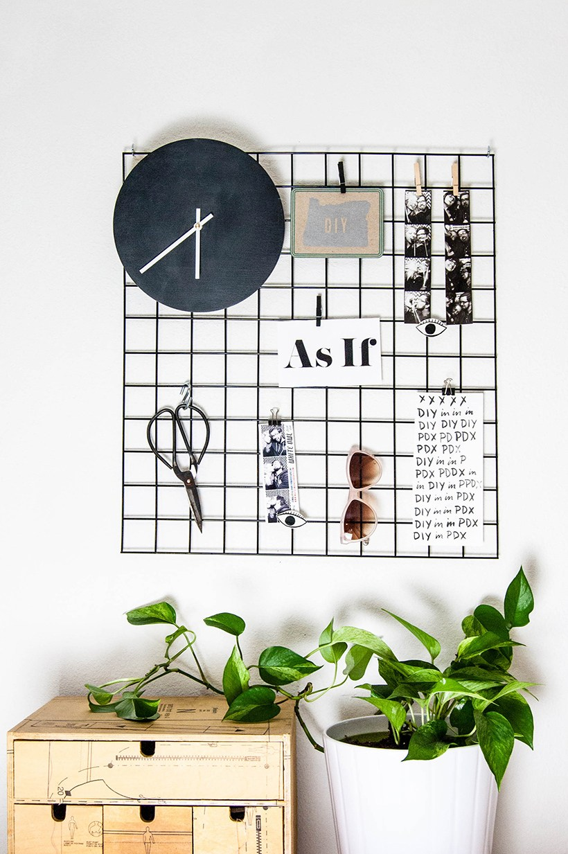 Simple and modern diys for the home homey oh my for Grid room