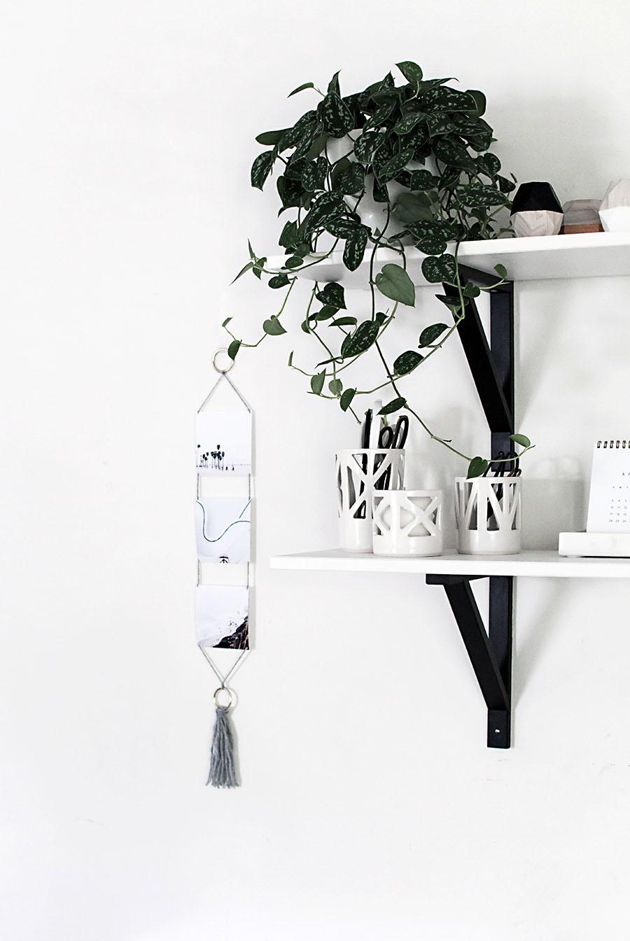 Modern Photo Wall Hanging- DIY