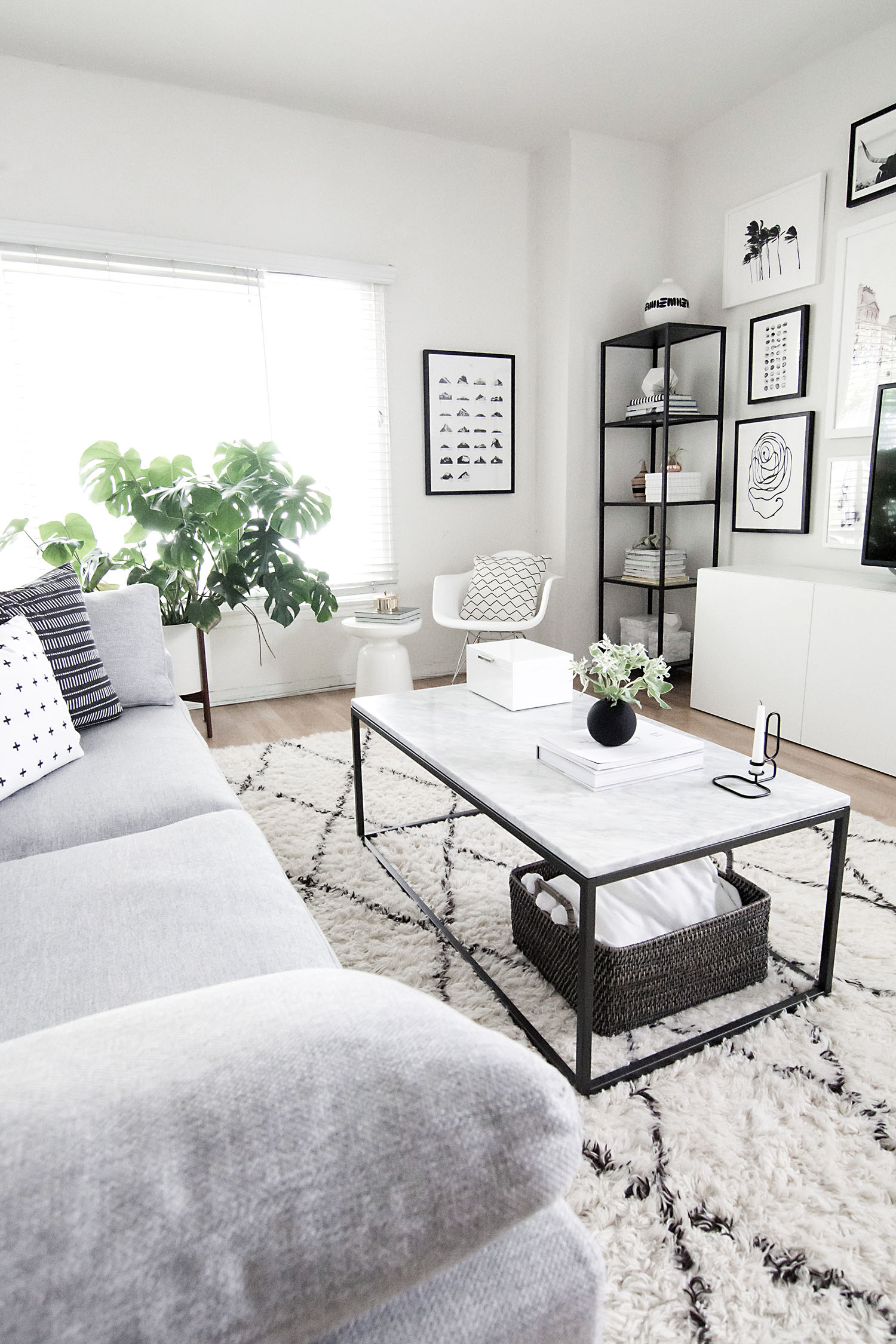 The blog what to expect reader survey homey oh my for Monochrome design ideas