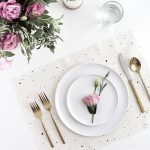 DIY Speckled Placemats