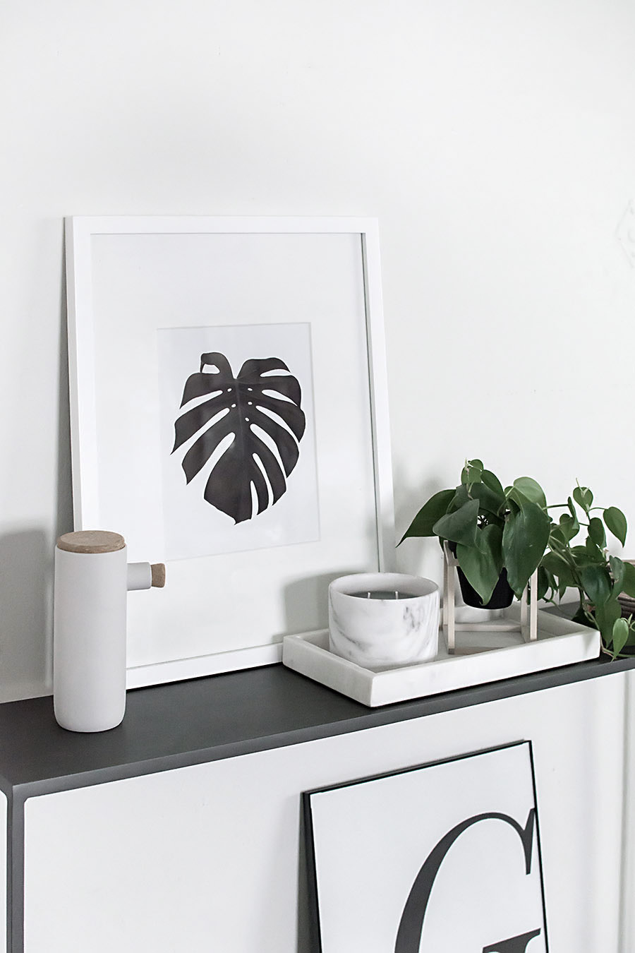 Free printable art- monstera-7