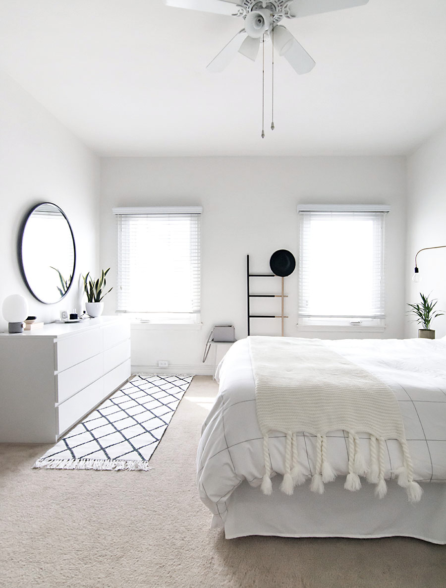 how to achieve a minimal scandinavian bedroom homey oh my - Minimal Room Decor