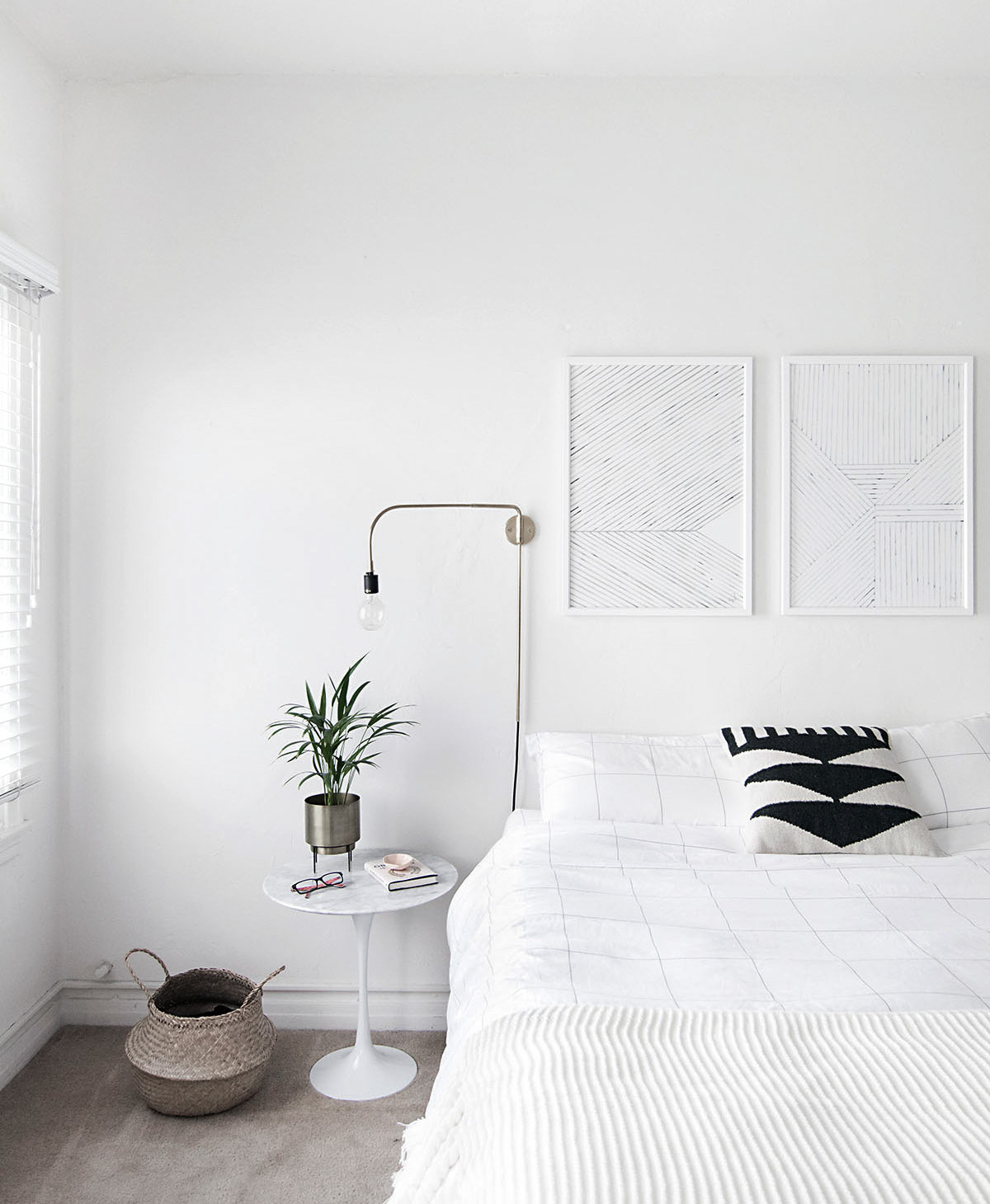 Grass Rug Ikea How To Achieve A Minimal Scandinavian Bedroom Homey Oh My