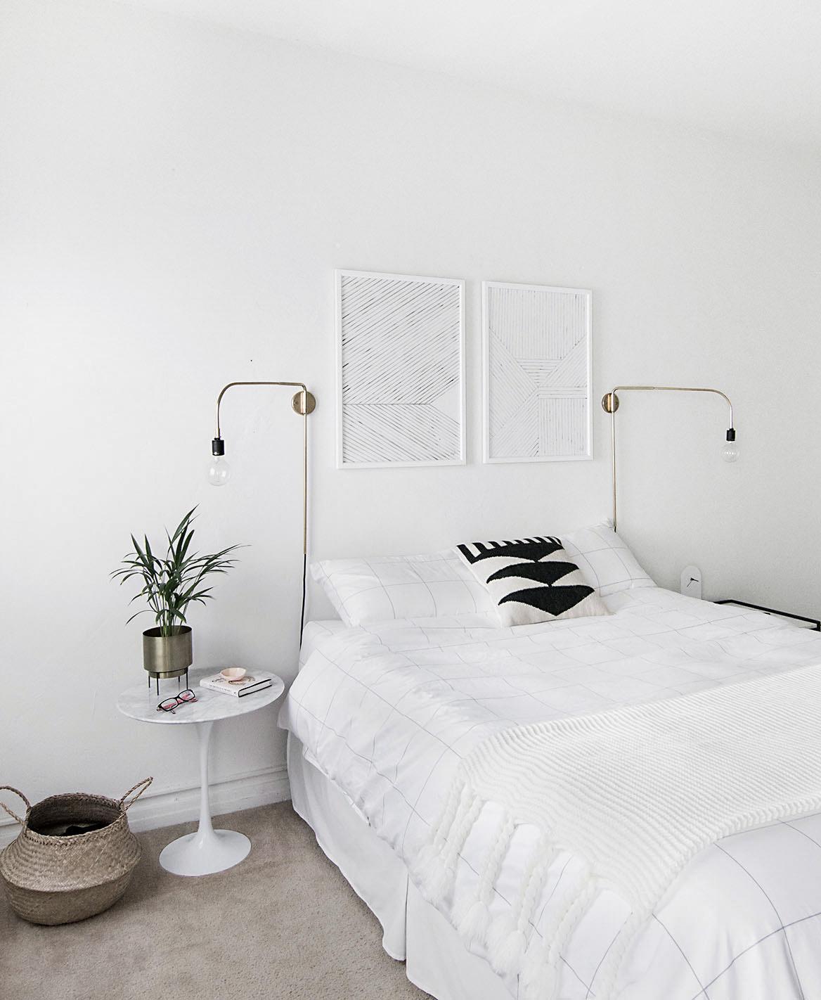 Modern minimal bedroom 3 5 for Bedroom minimal