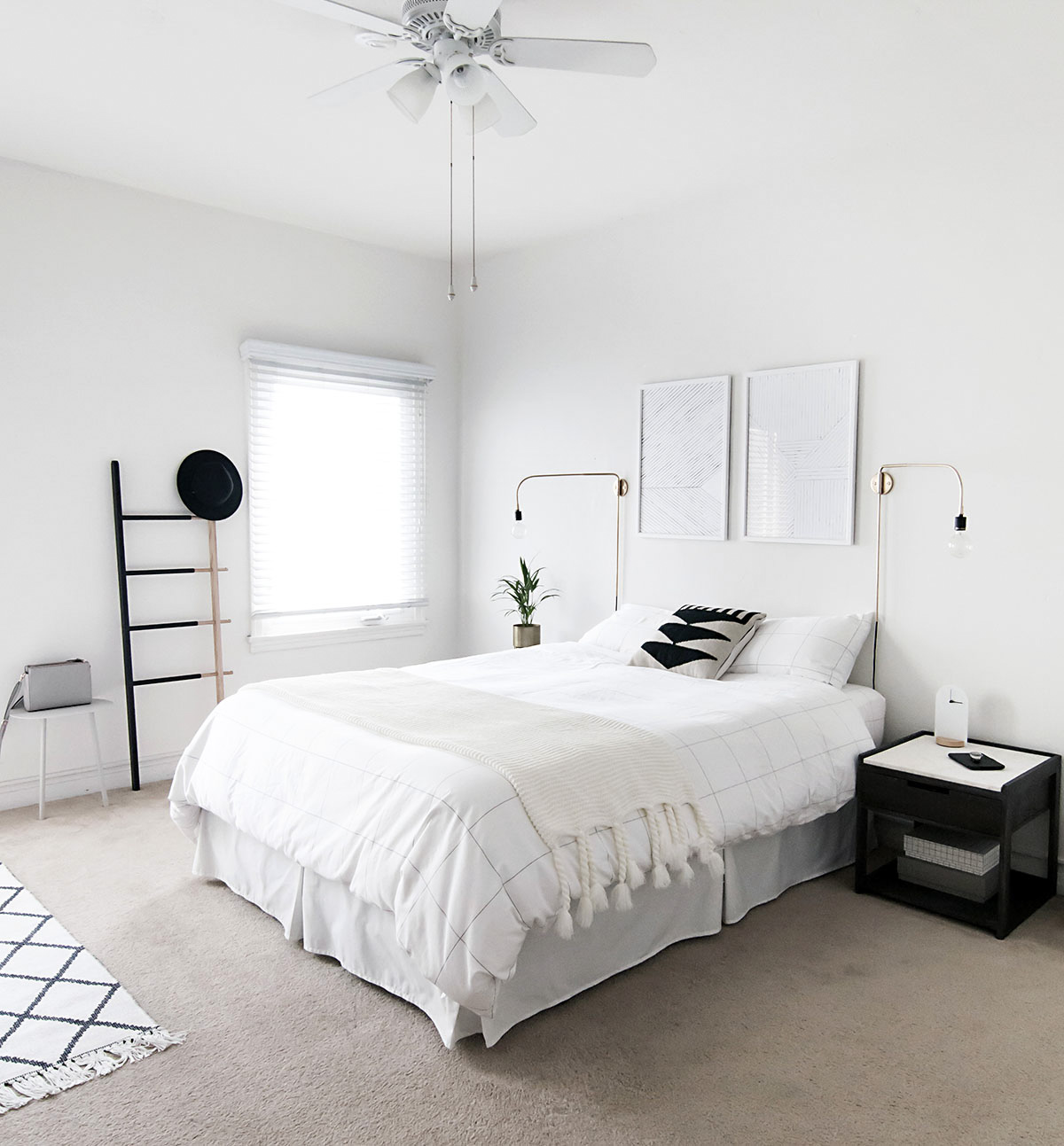 scandinavian minimal bedroom-2