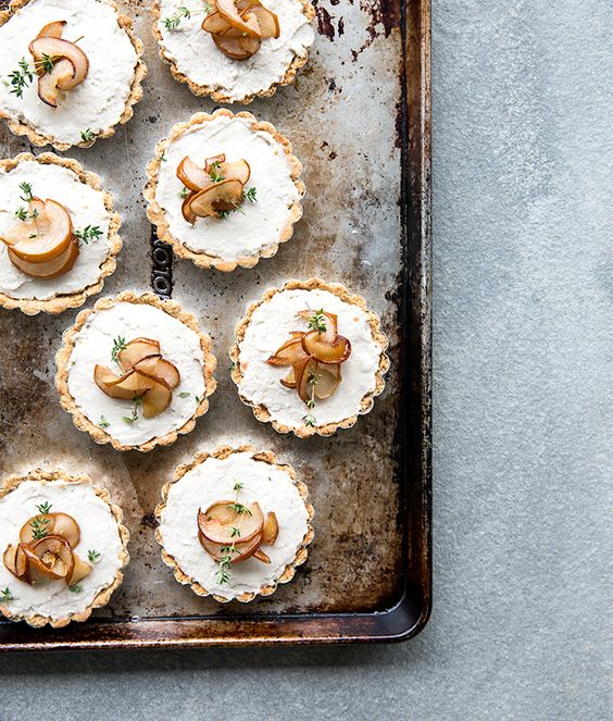 pear-and-thyme-tarts