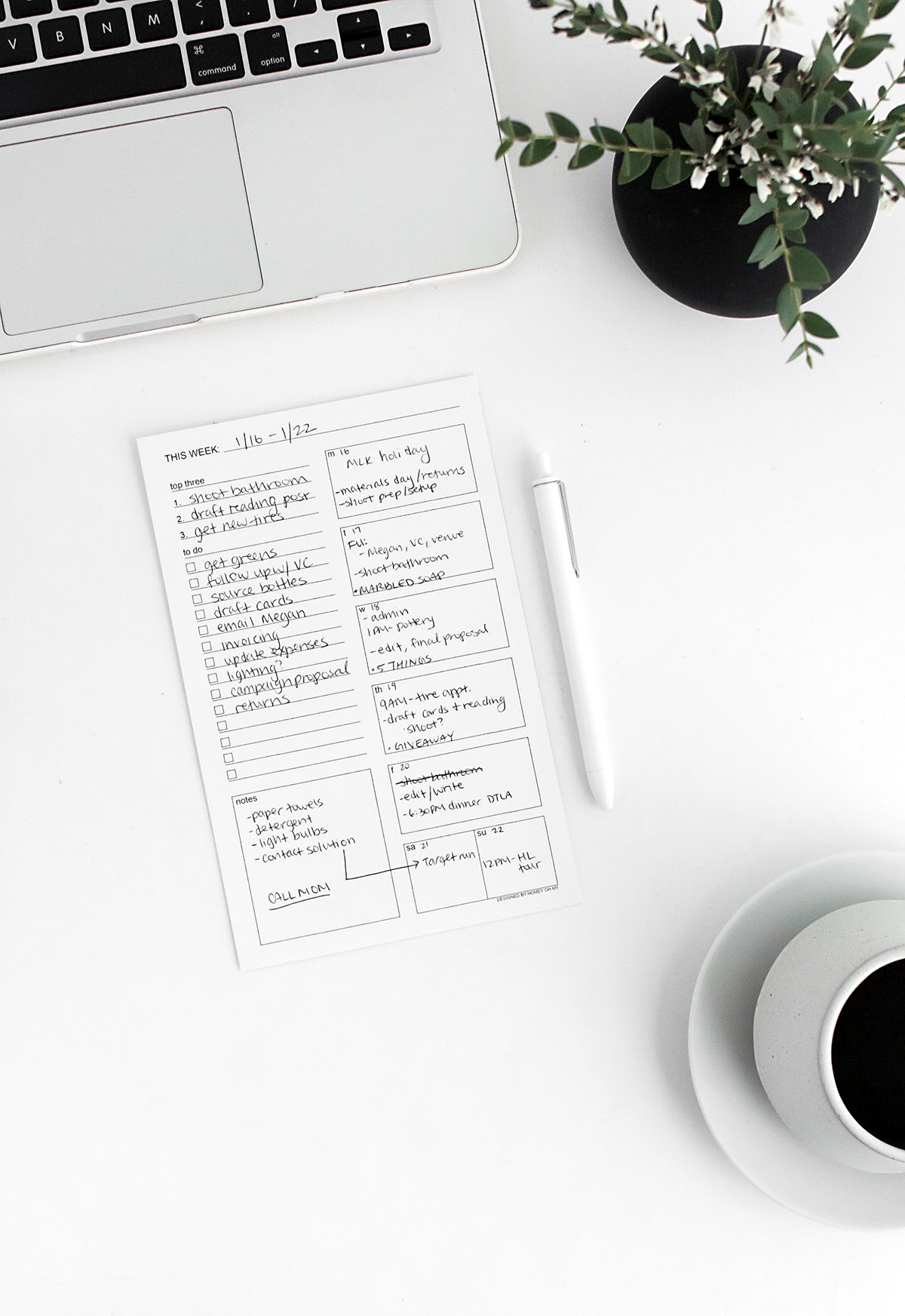 printable weekly to do sheet homey oh my