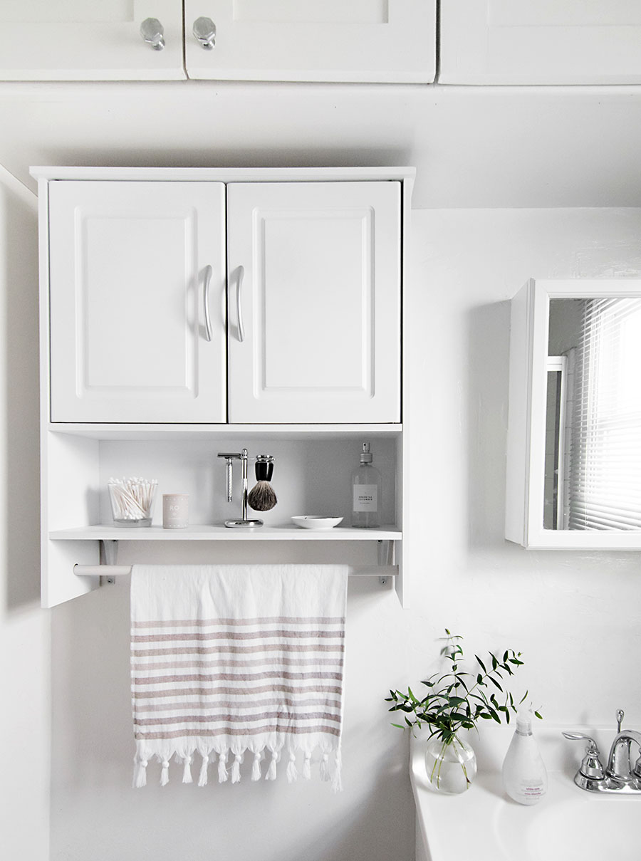 Great  inspired by minimalism and function two very loved things around these parts here are simple ways we ure refreshing our bathroom that anyone can try