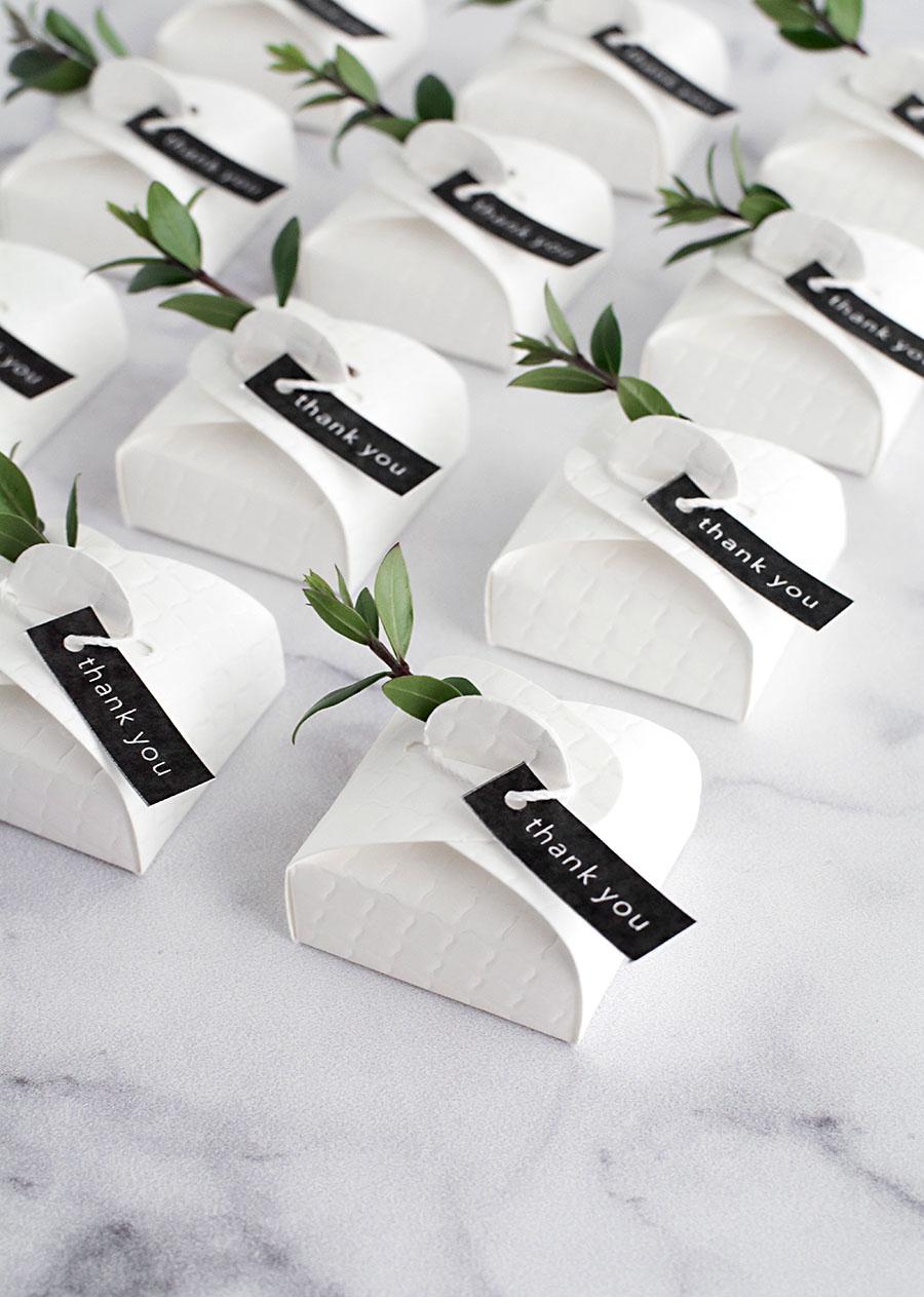 wedding favor box -
