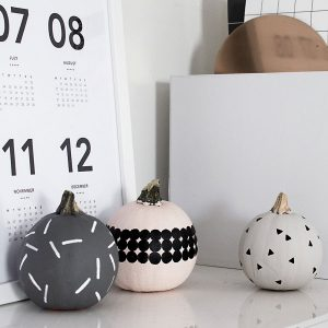 DIY Patterned Pumpkins