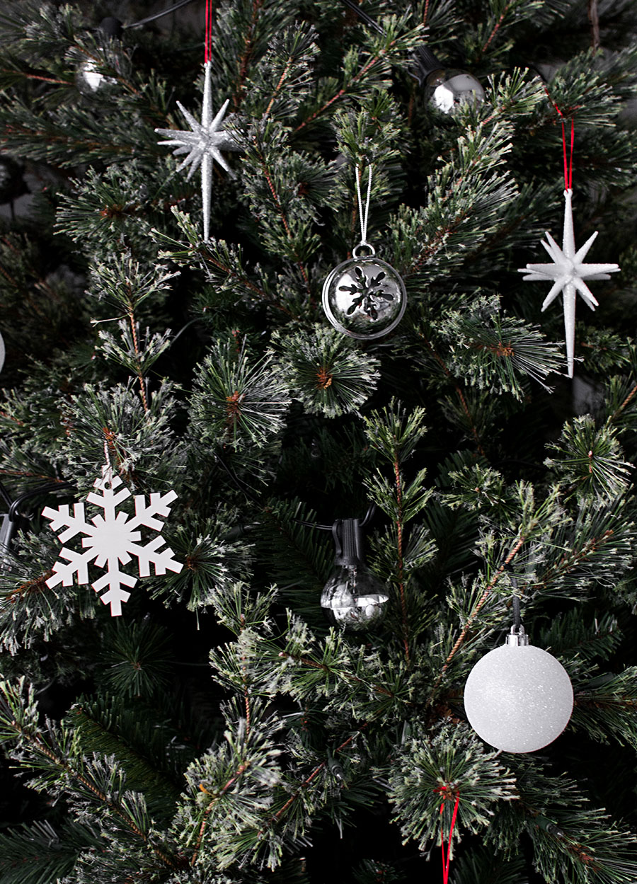 Modern christmas ornaments homey oh my