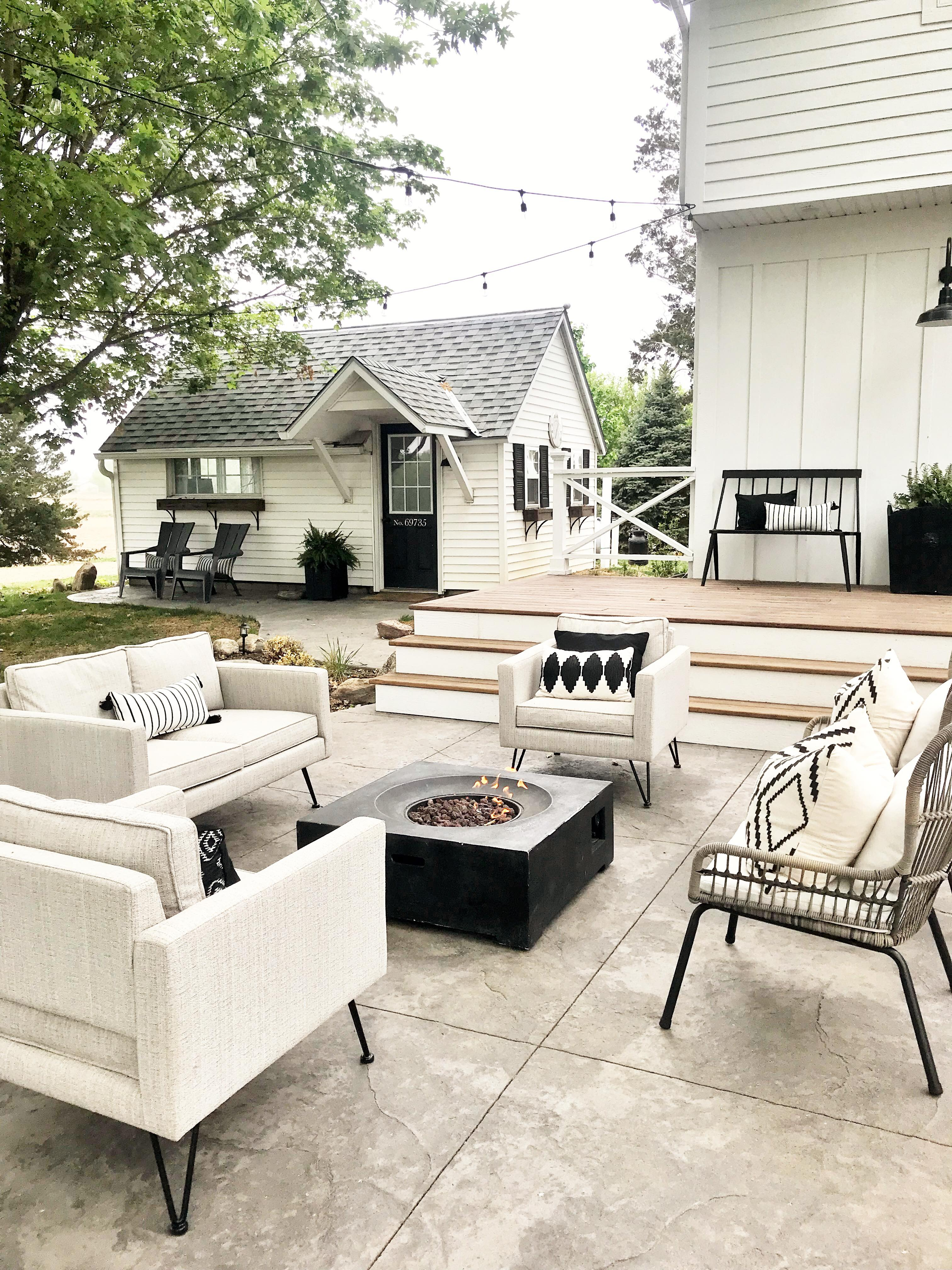 Modern Outdoor Spaces Homey Oh My