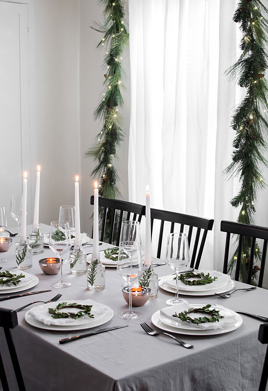 Homey oh my modern home and lifestyle - Modern christmas table settings ideas ...