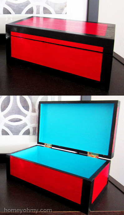 DIY Lacquered Box Feature