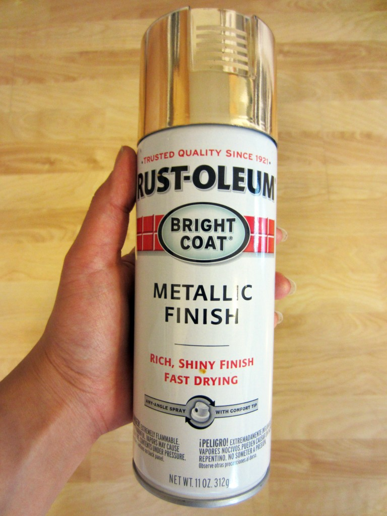 Rust-oleum Spray Paint in Gold