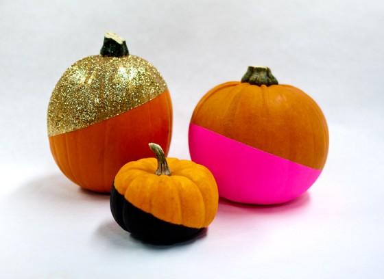 Paint Dipped Pumpkins Ciera Design