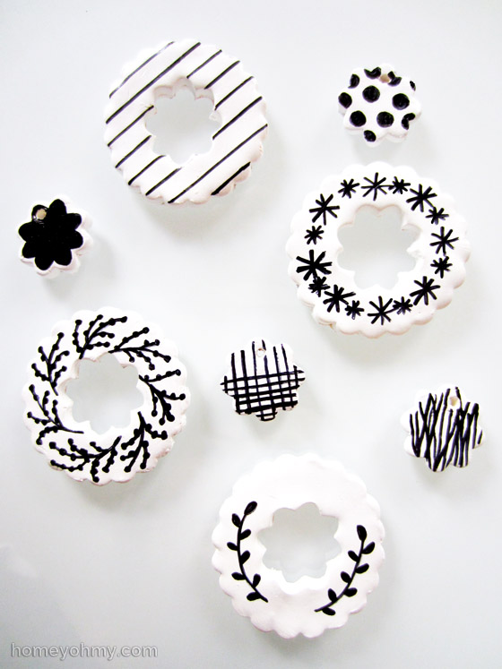 DIY Clay Ornaments