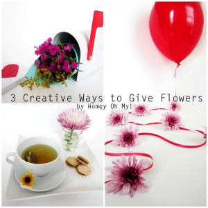 3 Creative Ways to Give Flowers