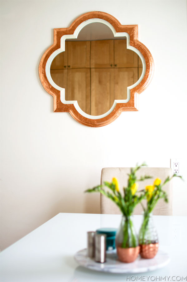 DIY Copper Mirror