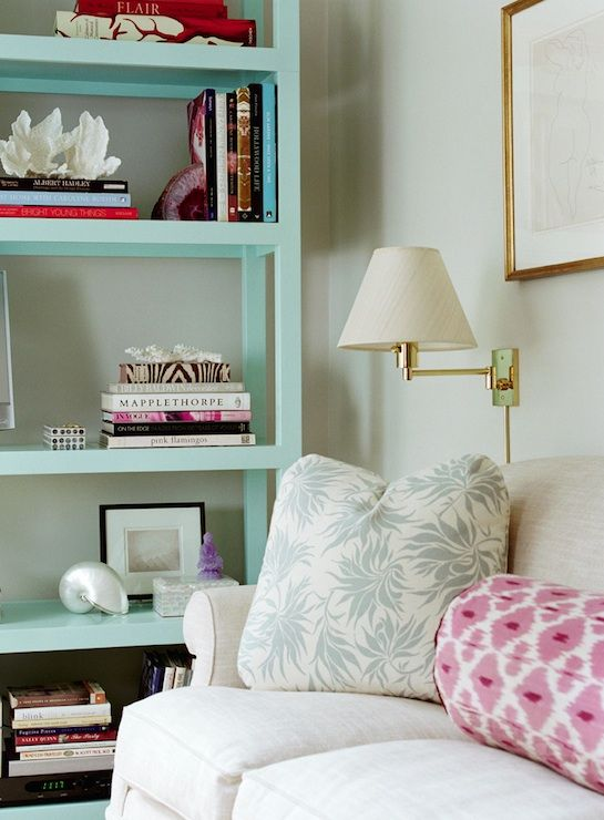Mint book shelf