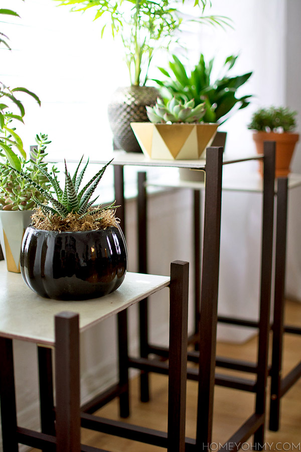 Modern plant stands @homeyohmy