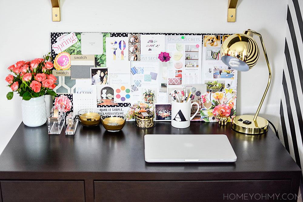 Desk styling