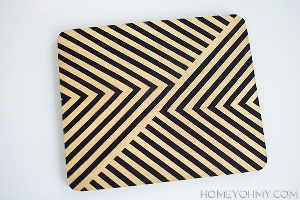 DIY old mouse pad | Homey Oh My!