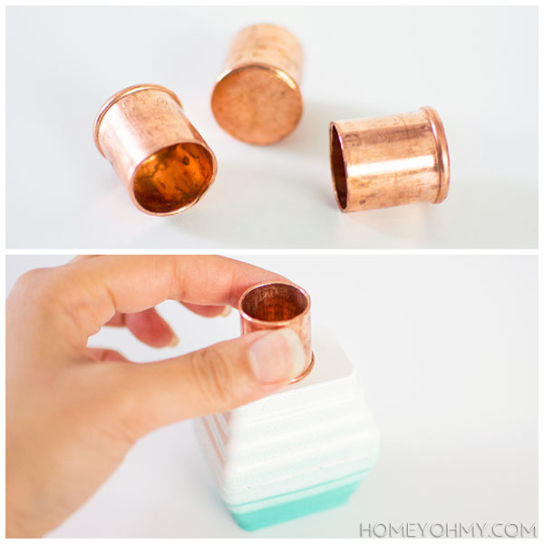 Copper plugs