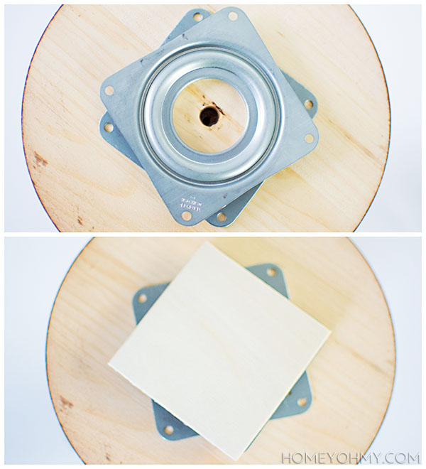 Ball bearing lazy susan