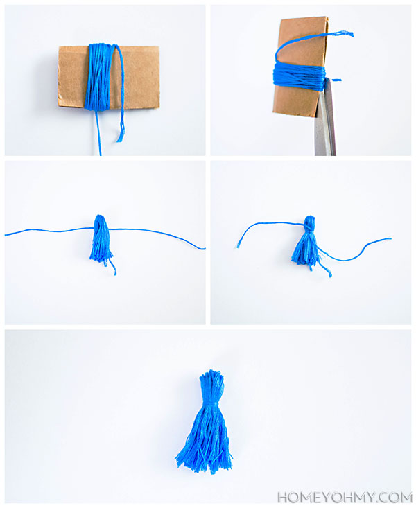 How to make a tassel