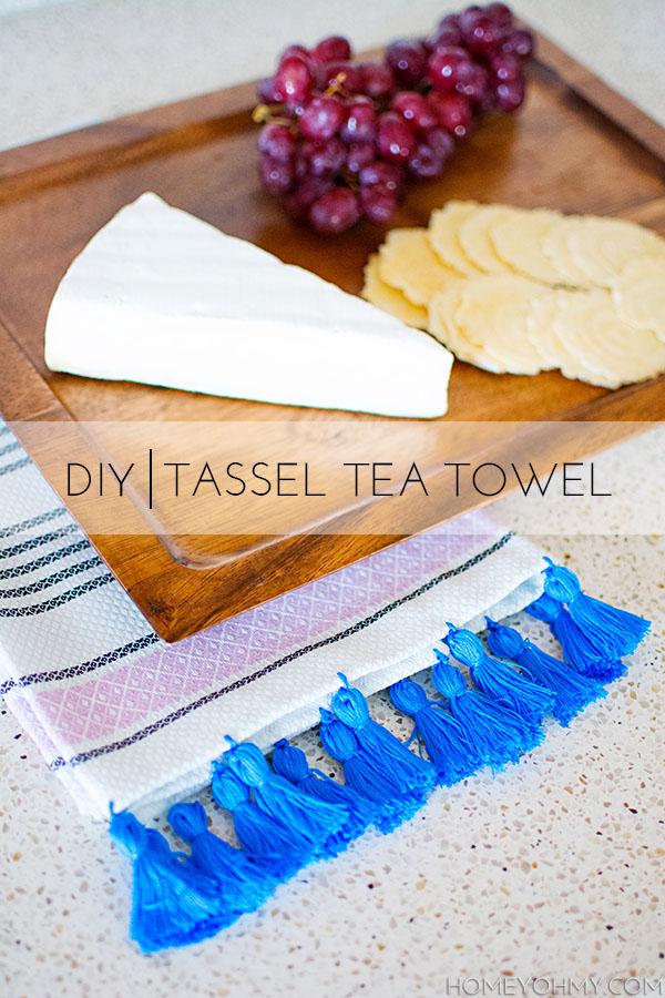 Tassel Tea Towel