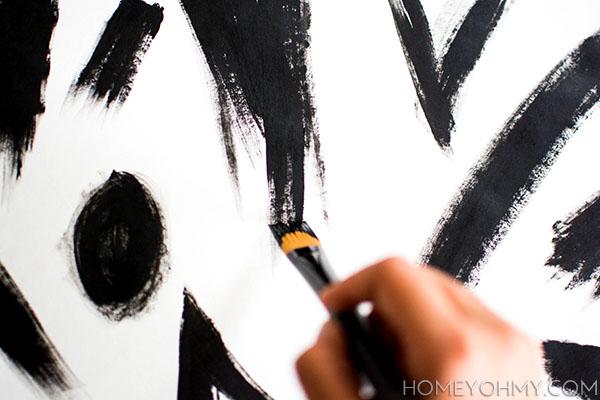 paint strokes