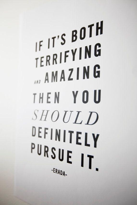 pursue it