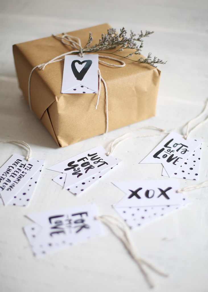Gift Tags from A Pair and a Spare