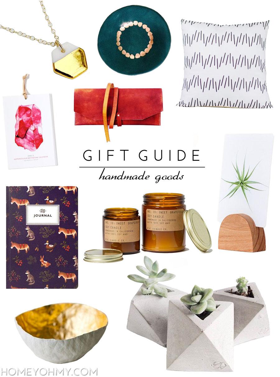 Gift Guide for Handmade Goods