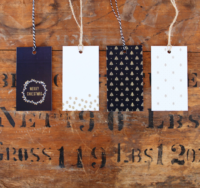 Holiday Gift Tags from House of Hipsters