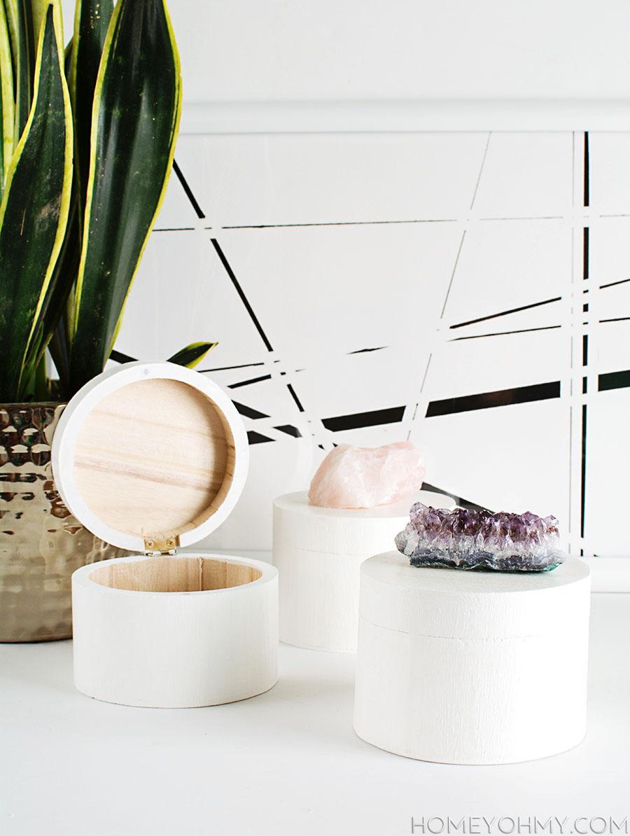 DIY Crystal Boxes