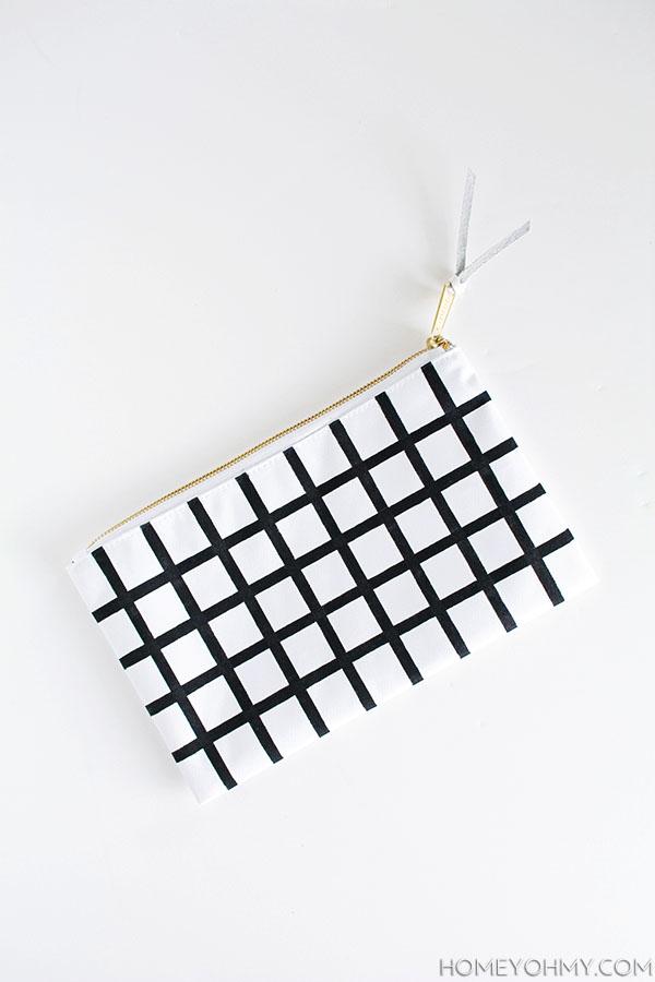 DIY- Grid Pouch