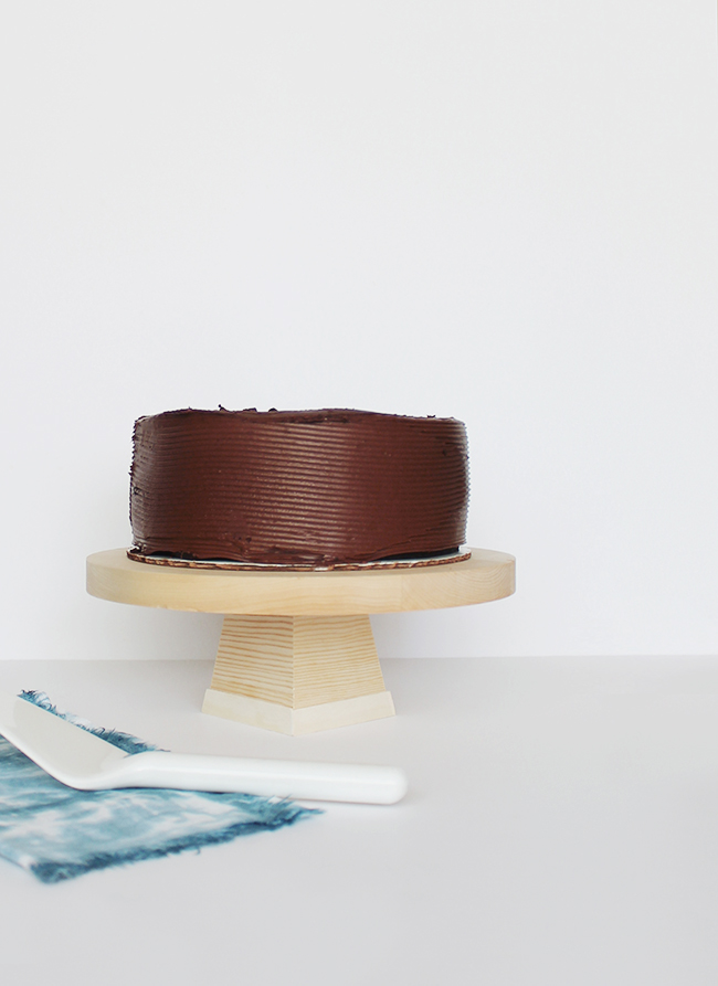 Diy Wood Cake Stand Homey Oh My
