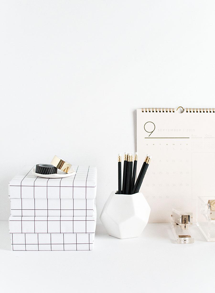 DIY Grid Boxes