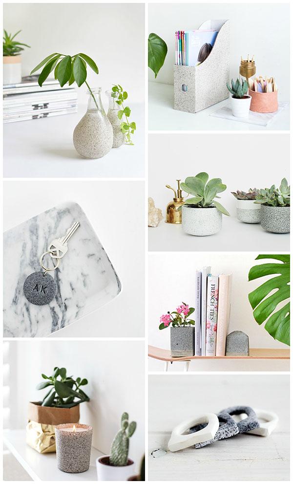 Granite Inspired DIYs