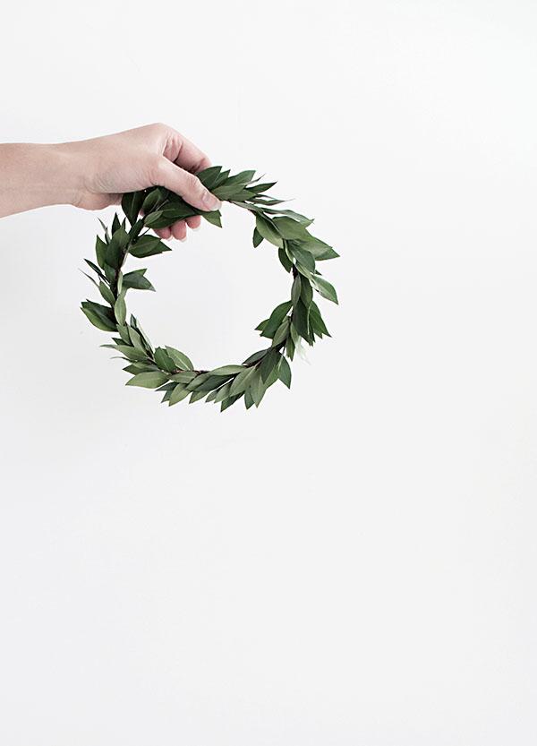 Greenery  Mini Wreath