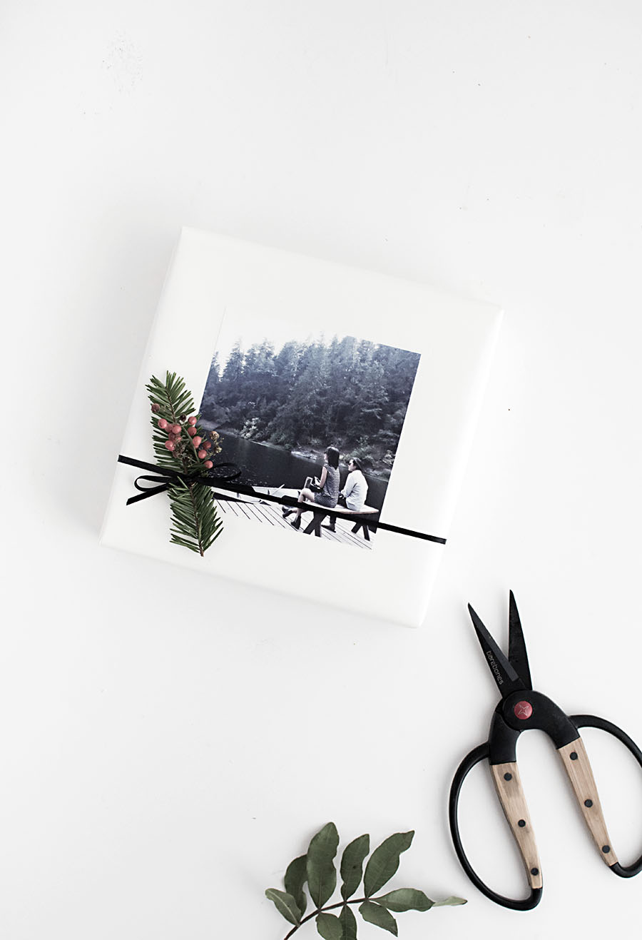 Photo Gift Tag Sticker